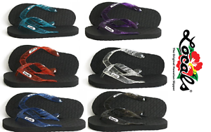 268034ffc5d Brand New NWT Hawaii Locals Rubber Slippers Flip Flops Sandals Free ...