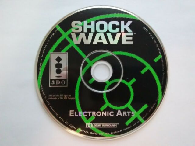 Shock Wave 1994 Panasonic 3do   Free Shipping