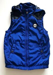 TIMBERLAND-Boys-Vest-Jacket-Hoodie-Hooded-10-y-Boy-Winter-Casual-Gilet-Preloved