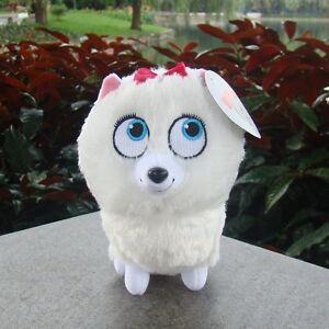 6-034-The-Secret-Life-Of-Pets-Plush-Doll-Toys-GIDGET-Girl-Dog-Cute-Stuffed-Animal