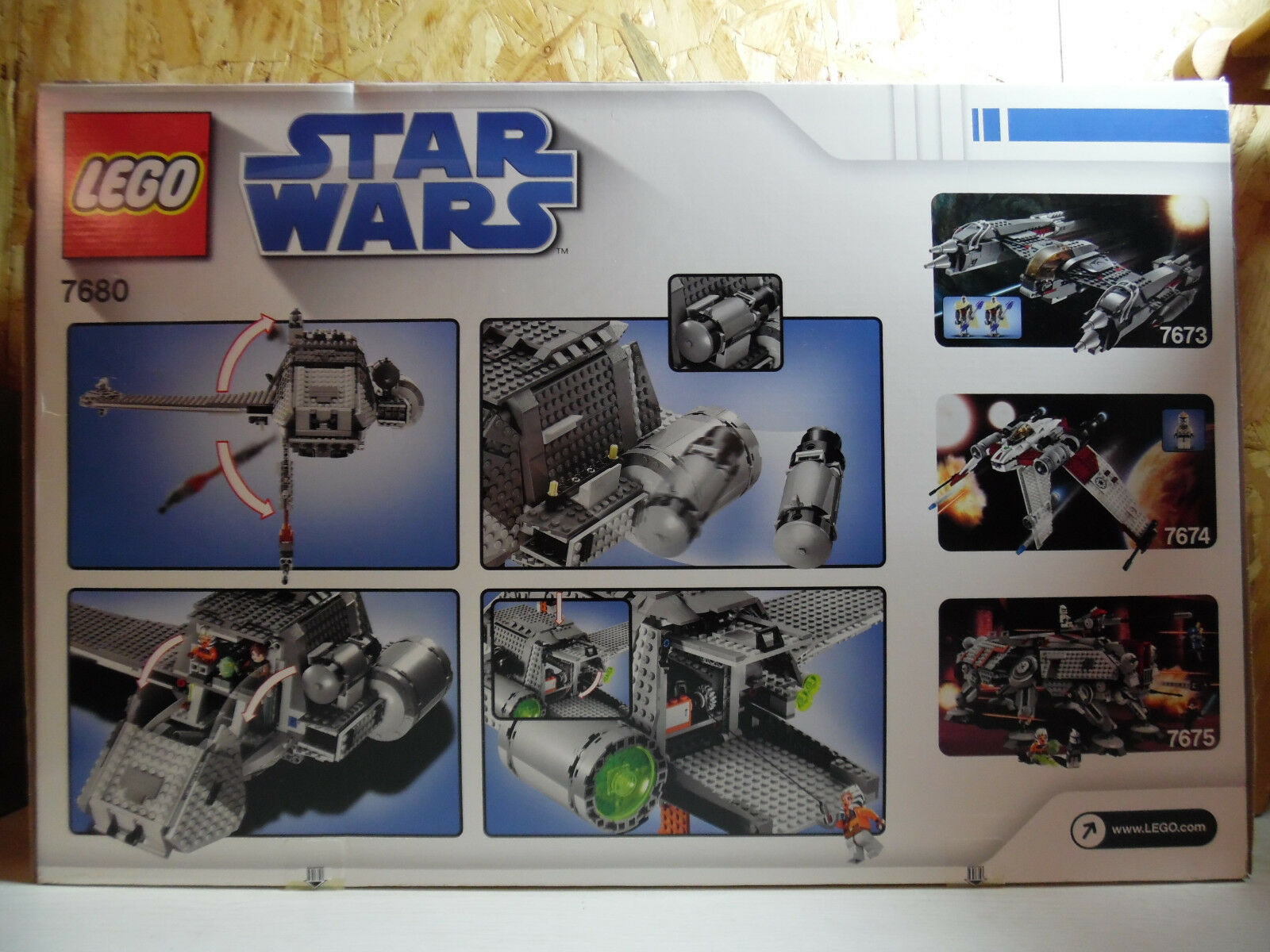 LEGO Star Star Star Wars / The Twilight / 7680 / Neu und OVP 261d88