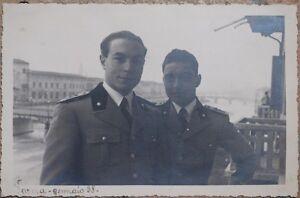 FOTOGRAFIA SOLDATI ITALIANI PARMA EMILIA ROMAGNA GENNAIO 1938 VEDUTA SOLDIERS