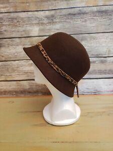a96cd115f Filippo Catarzi Wool Hat 100th Anniversary Brown Bucket Made in ...