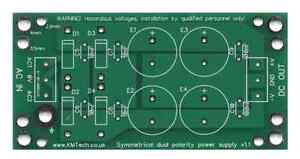 Dual-Polarity-Symmetrical-Power-Supply-PCB-Only-DIY-For-Audio-Amp