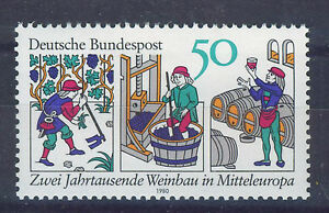 ALEMANIA/RFA WEST GERMANY 1980 MNH SC.1338 Wine production in Central Europe