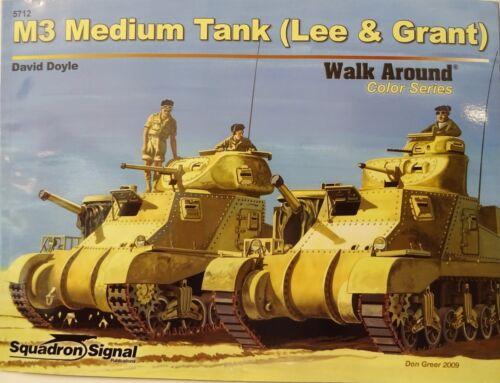 "Sonderaktion M3 Lee /& Grant Heft *NEU* Squadron Signal /""Walk Around Color/"""
