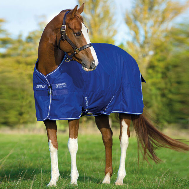 Amigo Unisex Hero 6 All In One Turnout 100g Horse Rug Waterproof Breathable