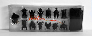 NEW Scarygirl - Signed - Nathan Jurevicius - Mini Treehouse Set 2003 - Black
