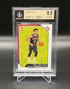 2018-19-PANINI-HOOPS-250-TRAE-YOUNG-ROOKIE-CARD-BGS-9-5-MINT