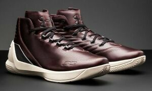 187c8bc1407f Under Armour UA Curry 3 Lux Limited Edition Oxblood Leather 1299661 ...