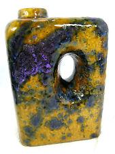 Beautiful glazed 70´s design  Roth / Marei Keramik Vase integrated handle 2003