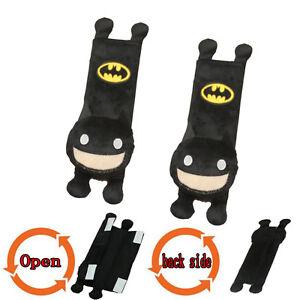 Image Is Loading 2Pcs Set Batman Comfortable Car Seat Belt Cover