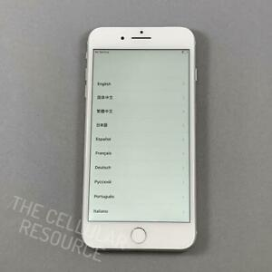 iPhone-8-Plus-64GB-A1864-Verizon-Unlocked-Silver-Fully-Tested-No-Touch-ID