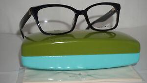5a580aaa296 Kate Spade New York Frame Eyeglasses RX New Black Spot Black JERI ...