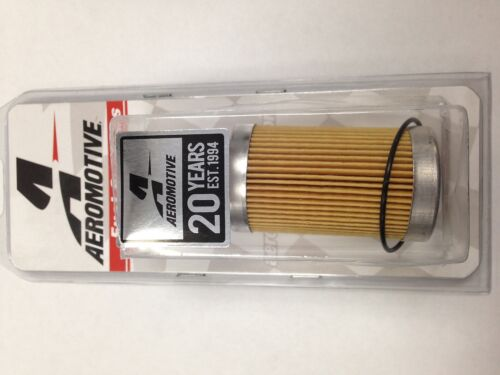 Aeromotive 12601 10 Micron Fuel Filter Replacement Element