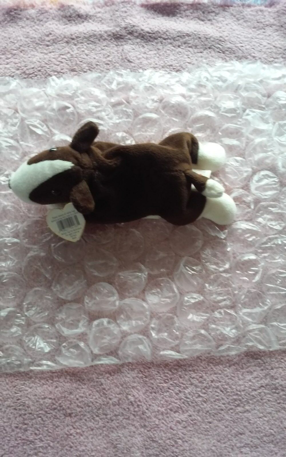Bruno the Terrier Beanie Baby Mint With Tags