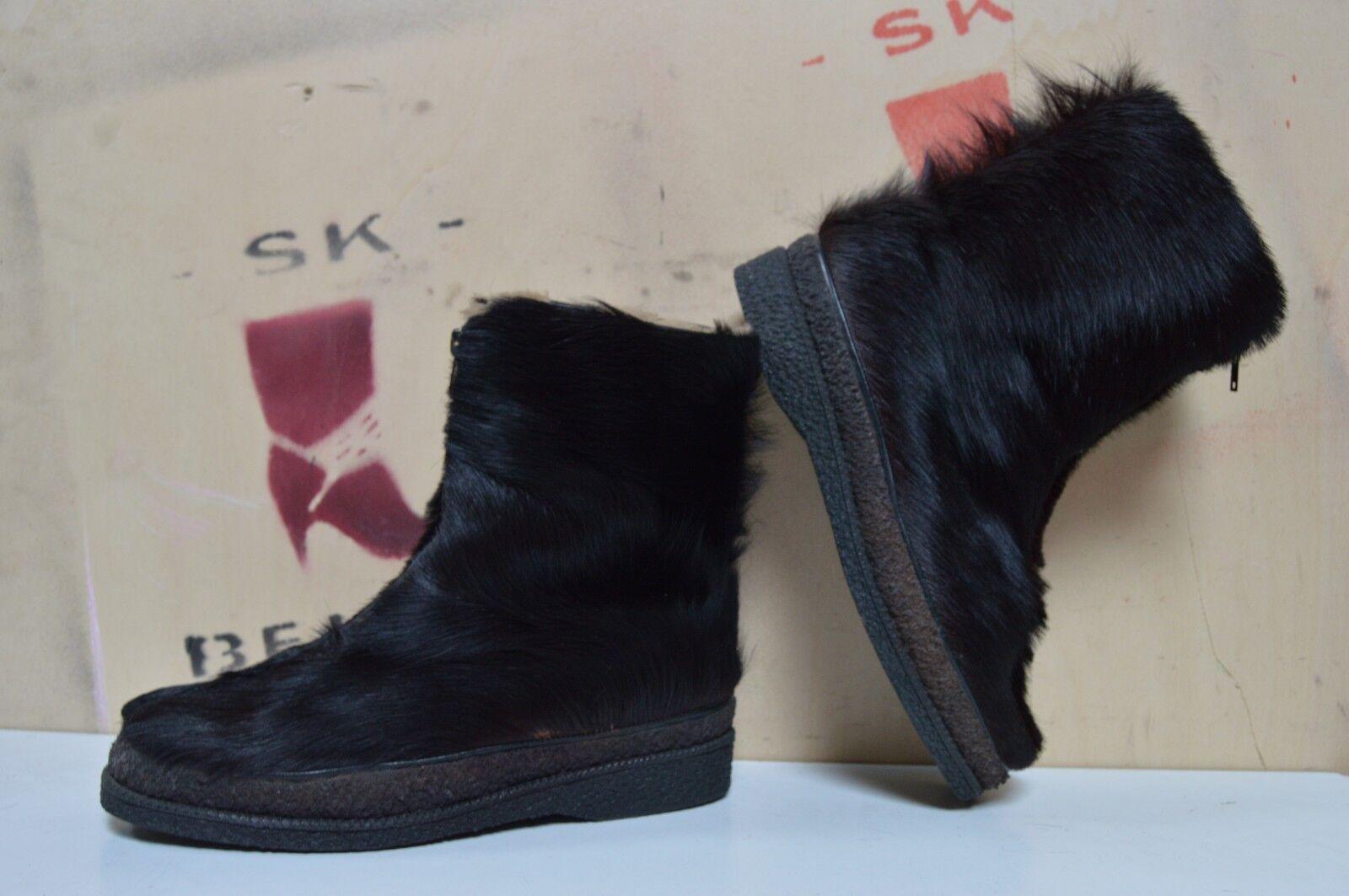 botas piel botas ártico botas True vintage fell botas de invierno uk7, 5 yetibotas