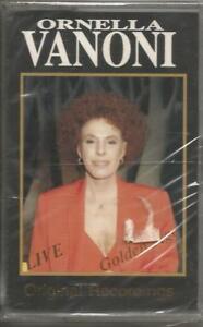 ORNELLA-VANONI-Golden-age-Live-MC-MUSICASSETTA-1992-SIGILLATA-SEALED