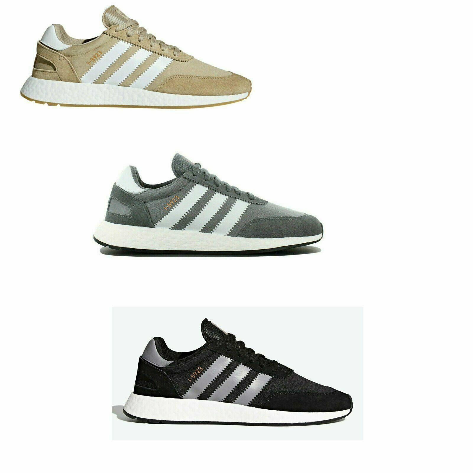 Original Adidas Iniki Runner I-5923 Trainers Turnschuhe grau Gold Beige braun