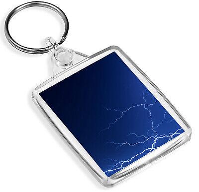 Amazing Schiarente Bullone Portachiavi Storm Meteo Elettrico Cool Portachiavi Regalo #8870-mostra Il Titolo Originale