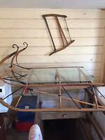Antique Sleigh Cutter Kijiji In
