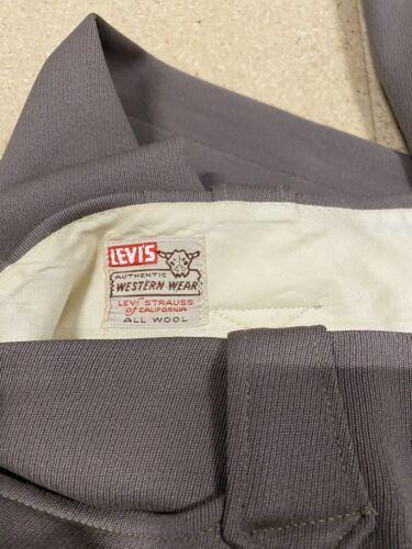 Vintage 1950's Levi Strauss Western Wear Short Hor