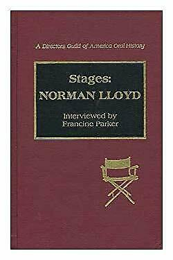 Stages : Norman Lloyd Hardcover Norman Lloyd