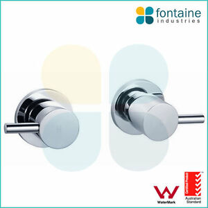 Wall Mixer Tap Set Bathroom Shower Bath Basin WELS AU Standard Round Modern NEW