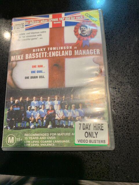 Mike Bassett - England Manager (DVD, 2009) Ex Rental Region 4 Rare