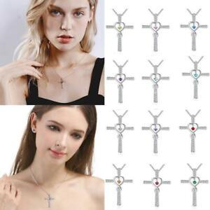 Anhaenger-Halskette-Kreuz-Herren-Anhaenger-fuer-Frauen-Schmuck-Halskette-M8S3