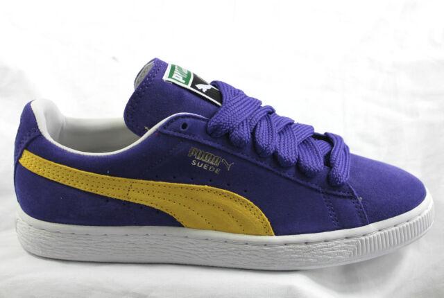 Puma Suede Classic 350734 45 UK 6 - 11 Retro Skate Skateboarding LA Lakers BNIB