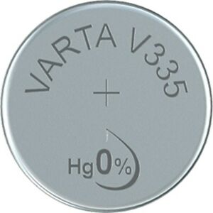 V335 Uhrenbatterie Knopfzelle = SR512SW VARTA