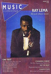 RAY LEMA Music Technology Aug 1989