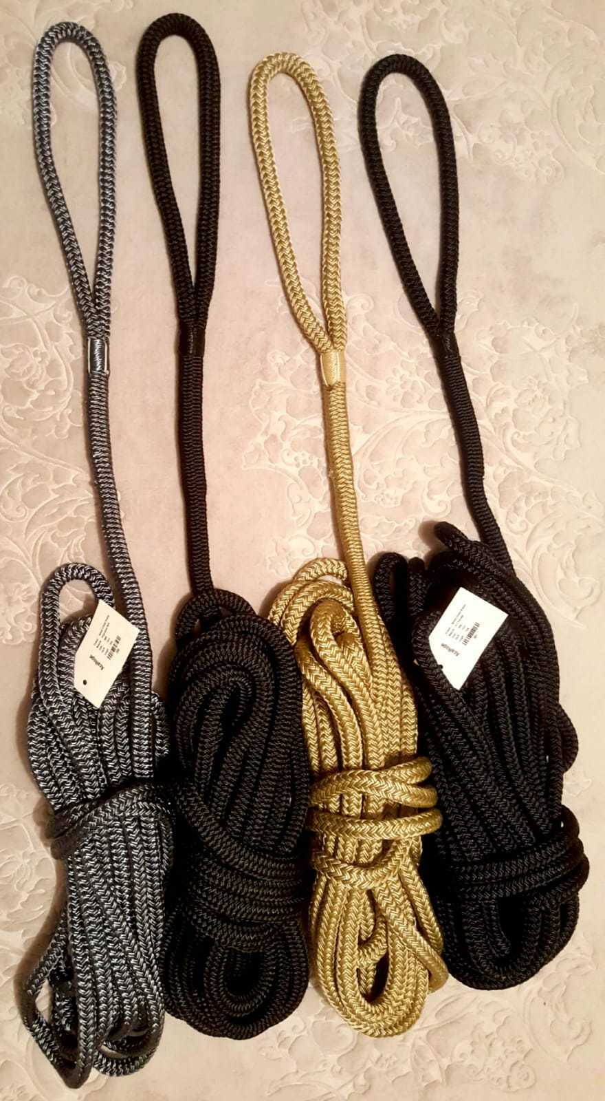 Floating    Pre-Spliced Double Braided Mooring Ropes