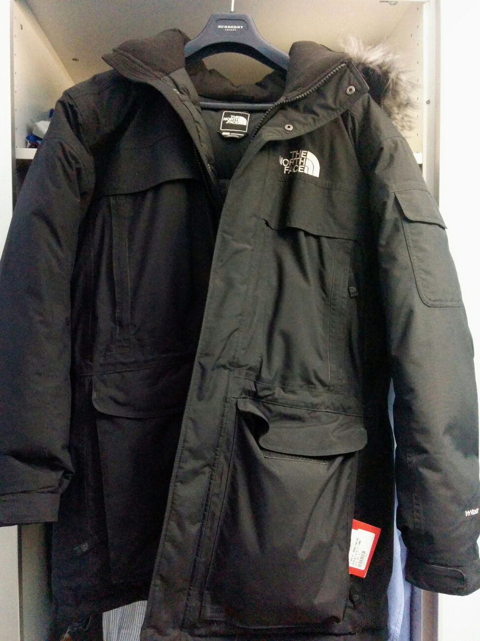 North Face Mc Murdo Parka NEW SIZE LARGE