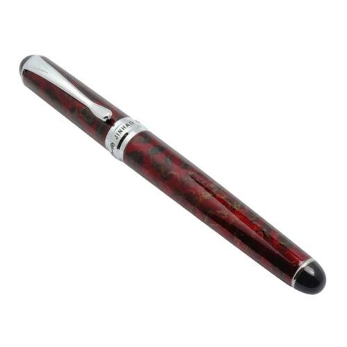 Füllfederhalter Jinhao X450 dunkel rot mittlere Spitzengröße