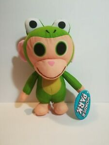 New WONDER PARK Frog Chimpanzombie Large Licensed Plush Stuffed Toy