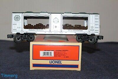 Lionel Trains 6-19670 New York Federal Reserve Mint Car MIB **