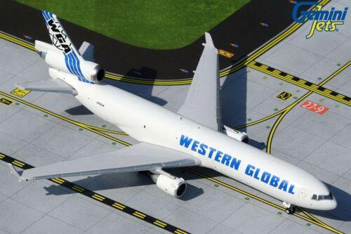 Gemini Jets Western Global McDonnell Douglas MD-11F 1//400