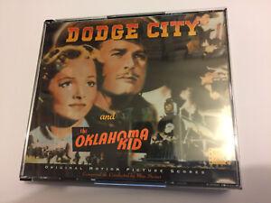 DODGE-CITY-THE-OKLAHOMA-KID-Max-Steiner-OOP-BYU-Ltd-Score-OST-Soundtrack-CD