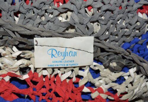 Tyrkiet Stunning S Reyhan Suede Størrelse Top Sweater Strik Vintage M Håndlavet nYFRI