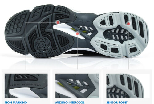 Details about  /Mizuno Lightning Z5 Volleyball Shoes Badminton Shoes Unisex Black V1GC190005