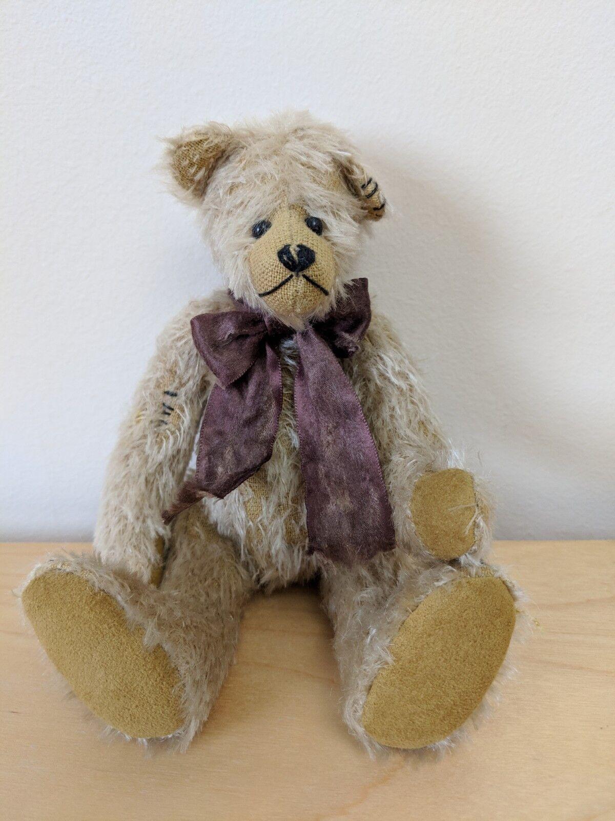 Fieldfayre Bears By Julie Tonkin  Mohair 20cm  Very Rare