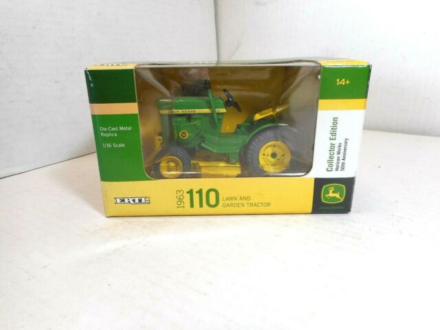 Horicon Works 50th Ann 1//16 John Deere 1963 110 lawn mower Hard to find in box