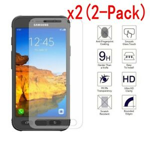 2-Pack-For-Samsung-Galaxy-S5-S6-S7-S8-Active-9H-Tempered-Glass-Screen-Protector