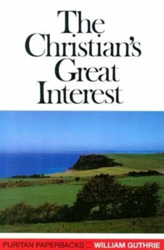 1 of 1 - Christian's Great Interest (Puritan Paperbacks)-ExLibrary