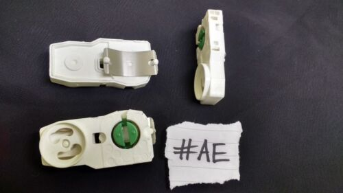 2x G13 Fluorescent Lamp Fitting Starter Holder 346/MAU Back Mounting T8 T12 #AE