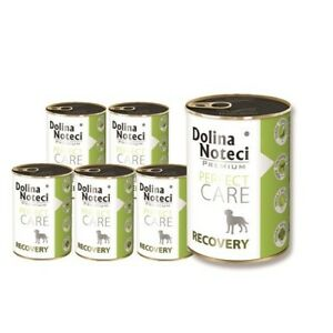 24x400g de nourriture humide pour chien Dolina Noteci Perfect Care Recovery