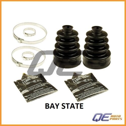 2 Front Inner CV Joint Boot Kits Bay State for Mazda 626 MX-6 Toyota Camry