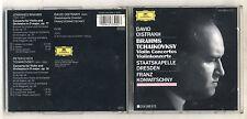 Cd DAVID OISTRAKH Brahms Tchaikovsky Violin Concertos Franz Knwitschny 1954